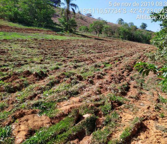 Assistência ao produtor rural na comunidade do Cachimbo